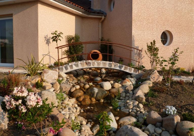 Création d'un jardin aquatique à Montbrison