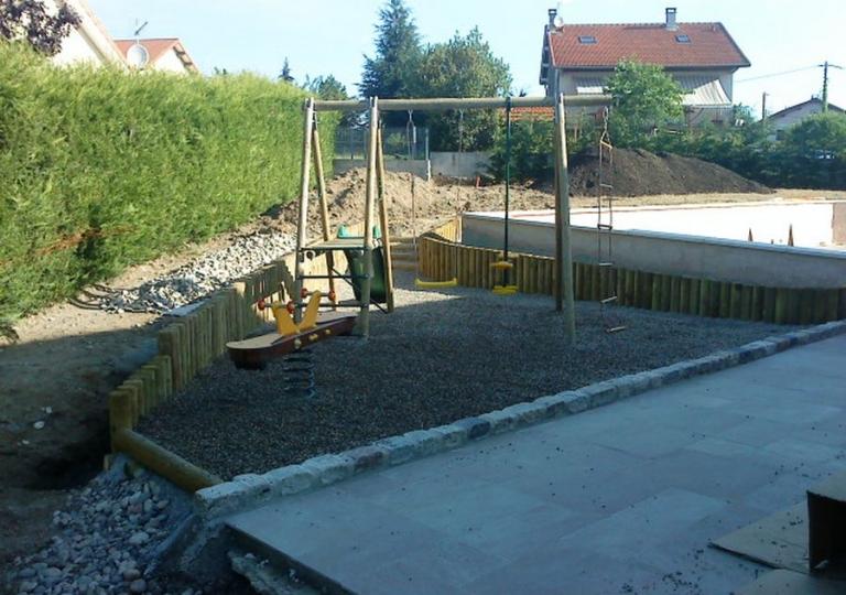 Création d'une aire de jeux pour enfants à Montbrison