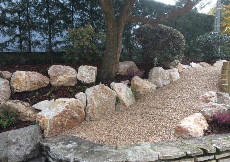 Création d'un jardin d'ornement à Montbrison