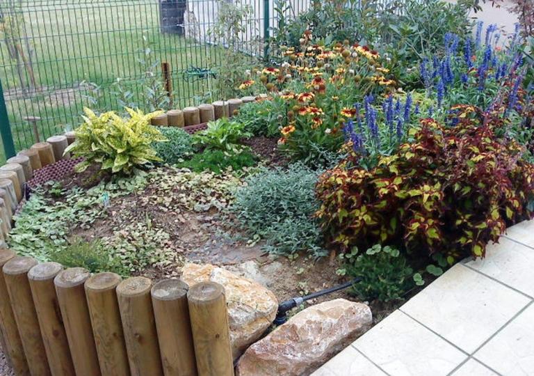 Aménagement d'un jardin d'ornement à Montbrison