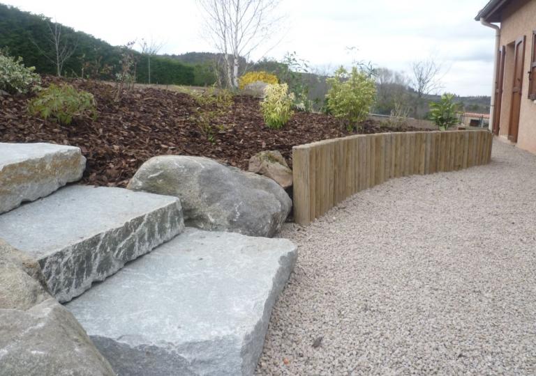 Création d'une rocaille à Marcilly le Châtel