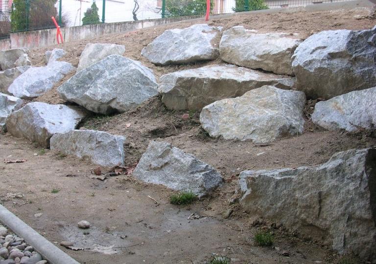 Création d'une rocaille à Montbrison